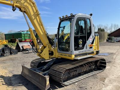 New Holland E80B msr Kobelco