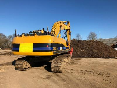 Caterpillar 322 C LN mit Trimble GPS